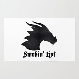 Smokin' Hot | Dragon Rug