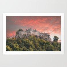 Stirling Castle Art Print