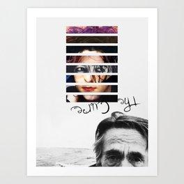 #TheCure Art Print