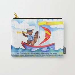 A. Fox Goes Sailing Carry-All Pouch