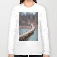 michigan Long Sleeve T-shirts featuring Michigan by Ziggy Photography
