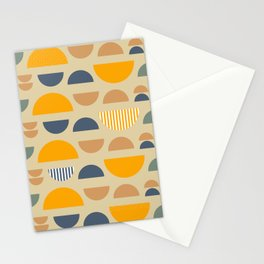 Some modern geometry Stationery Cards