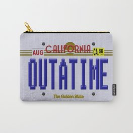 Back to the future California License Plat iPhone 4 4s 5 5s 5c, ipod, ipad, pillow case and tshirt Carry-All Pouch