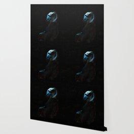 Humanity - Mountain Gorilla in Moonlight Wallpaper