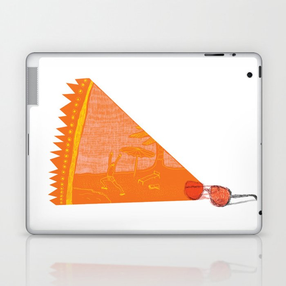 I see summer  Laptop & iPad Skin
