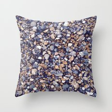 Pebbles in Pinkish Throw Pillow