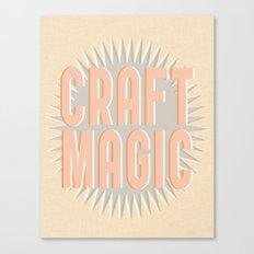 Craft Magic // Coral Canvas Print