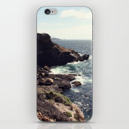 sea cliffs iPhone Skin