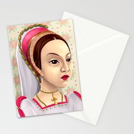 Catherine Howard, Katherine Howard, British Royalty, Monarch Stationery Cards