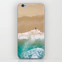 Peace to the Sea iPhone Skin