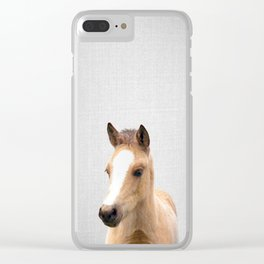 Baby Horse - Colorful Clear iPhone Case