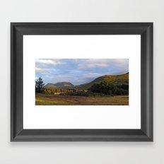 Glen Forsa and Beinn Tallaidh Framed Art Print
