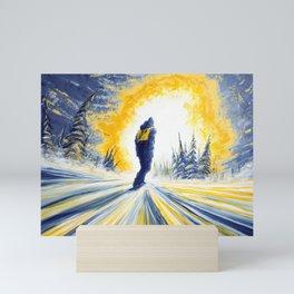 Light Chaser Mini Art Print