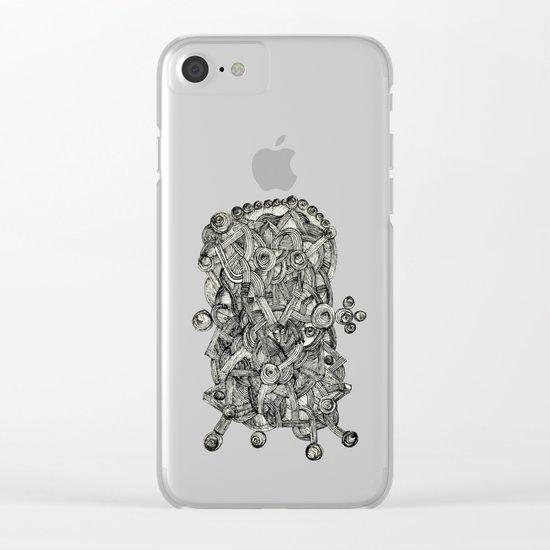 - dark energy - Clear iPhone Case