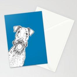 Peeking Dog Stationery Cards