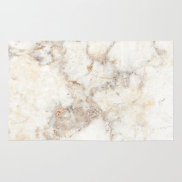Marble Natural Stone Grey Veining Quartz Rug