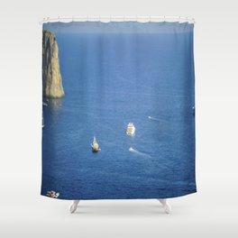 Capri, Amalphi Coast, Italy 7 Shower Curtain