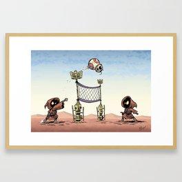 BB-Ball Framed Art Print