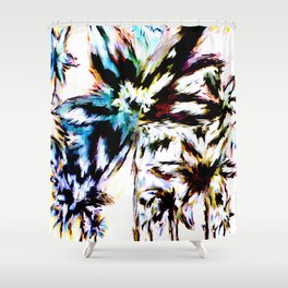 Palm Trees In Juno Shower Curtain