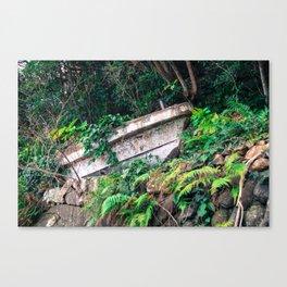 Yakushima Fishing-boat Canvas Print