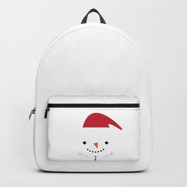Cute snowman Backpack