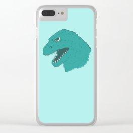Godzilla 1954 Clear iPhone Case