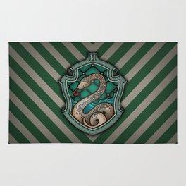 Hogwarts House Crest - Slytherin Rug