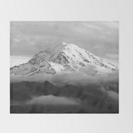 Marvelous Mount Rainier Throw Blanket