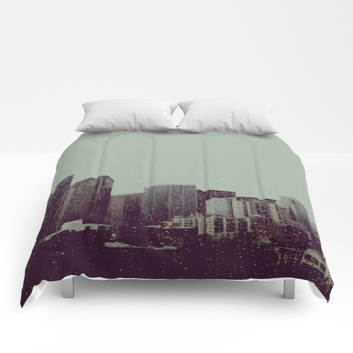 Sleepy Seattle Comforters