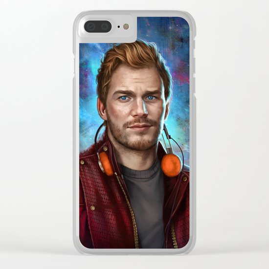 Starlord Clear iPhone Case
