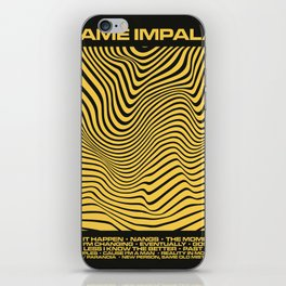 Tame Impala Currents Design iPhone Skin