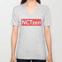 NCT NCTzen red Unisex V-Neck