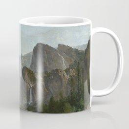Indians at Campfire, Yosemite Valley, California Coffee Mug