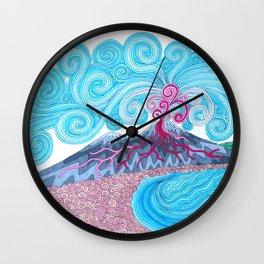 pulcinella Wall Clock