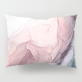 Blush and Blue Dream 1: Original painting Pillow Sham