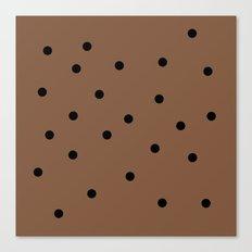 Chocolate Chocolate Chip Canvas Print