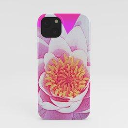 Ninfea Rose iPhone Case
