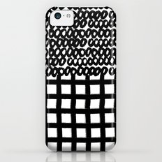 Circles and Grids Slim Case iPhone 5c