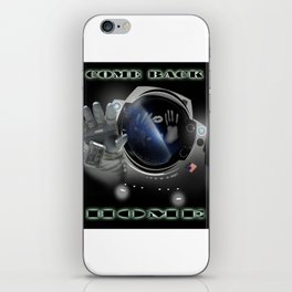 The solitary nostalgic emotion - come back home! iPhone Skin