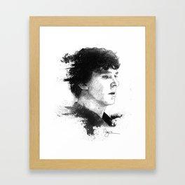 Sherlock Holmes Framed Art Print