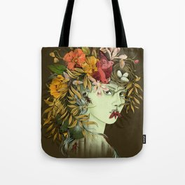 Persephone, goddess of Spring Tote Bag