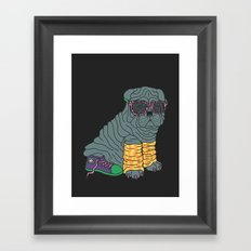 Sharpei Glam Framed Art Print