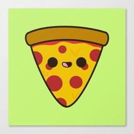 Yummy pizza Canvas Print