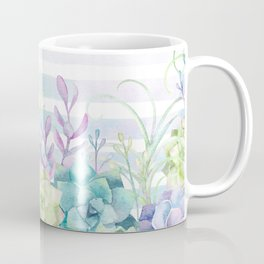 Summer Succulents Coffee Mug