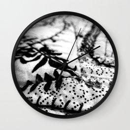 Winter moods Wall Clock