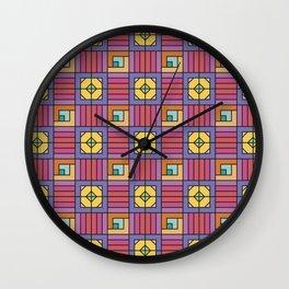 Geometric surface Wall Clock