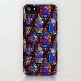 Lanterns of Morocco iPhone Case