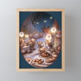 The Acorn Festival Framed Mini Art Print