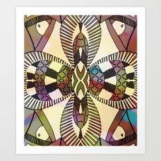 Ubiquitous Bird Collection9 Art Print