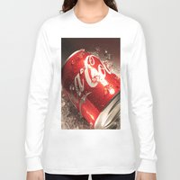 coca cola Long Sleeve T-shirts featuring Coca Cola by MarianaManina